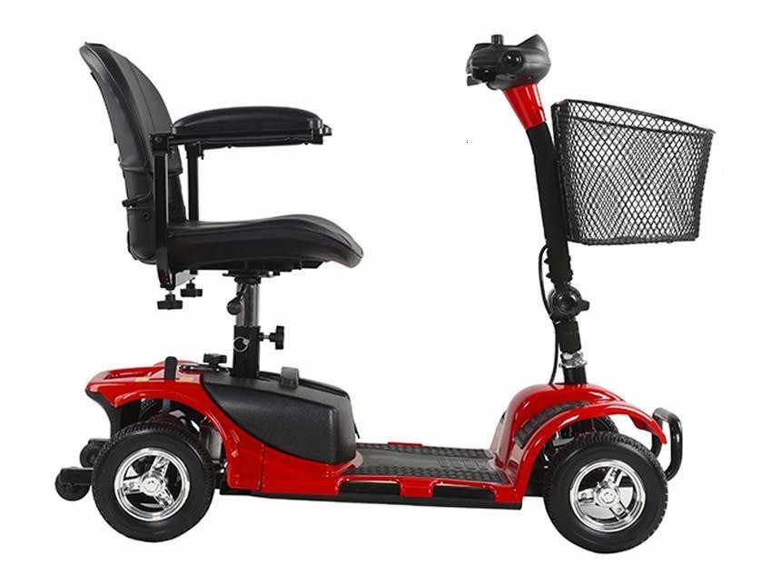 Electric Scooter For Elderly Four Wheels Electric Scooters 8 Inch 24V 250W Electric Kick Scooter For AdultsDisabled (11)
