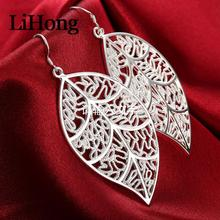 925-Sterling-Silver Earrings Jewelry Wedding-Gifts Glamour Women's Autumn New-Style