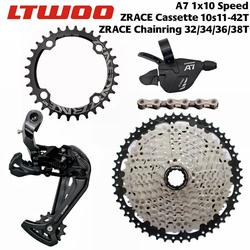 LTWOO A7 10 Speed Shifter + Rear Derailleur + Cassettes / 104BCD Chainring + 10S Chains Groupset for PCR BEYOND DEORE MTB Bike