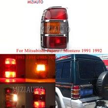 цены For Mitsubishi Pajero / Montero 1991 1992 1993 1994 1995 1996 1997 tail light turn signal taillights Warning Rear Brake Light