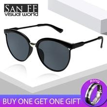 sunglasses women 2019 Metal Round Half Frame Ladies Sunglasses Classic Designer Anti-Reflective driving Eye wear