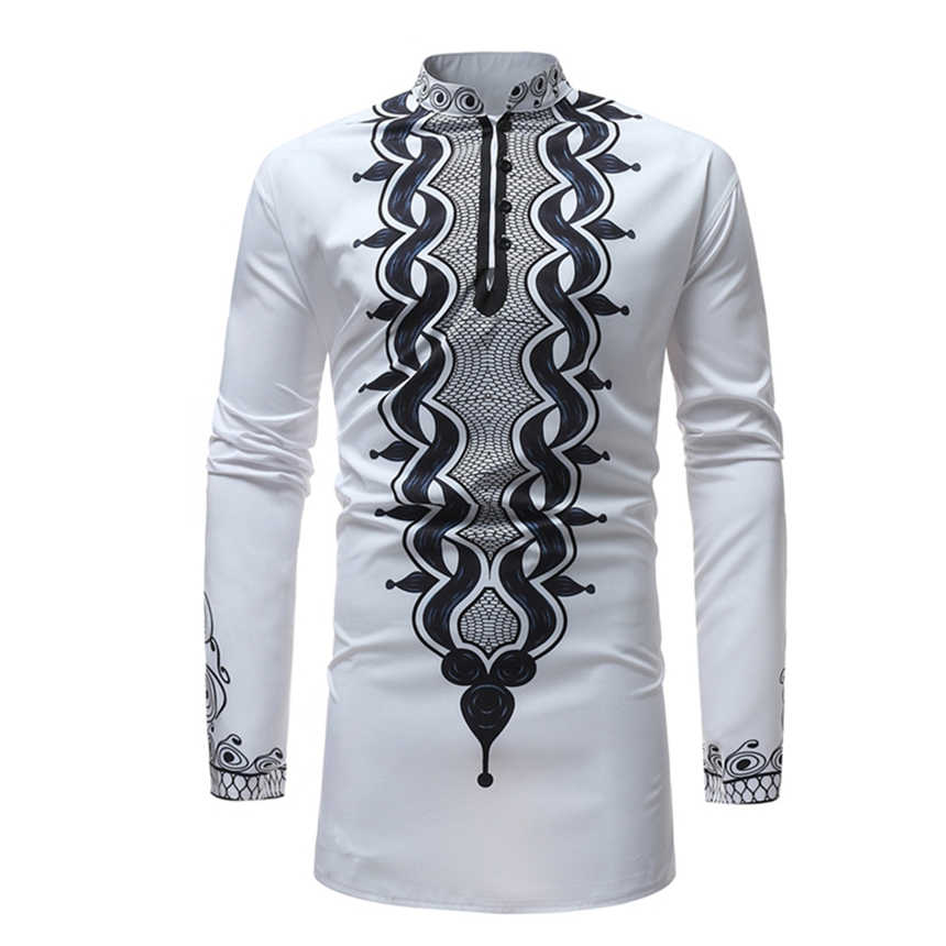 2021 Print Rich Bazin Man African Clothes Fashion African Dress ...