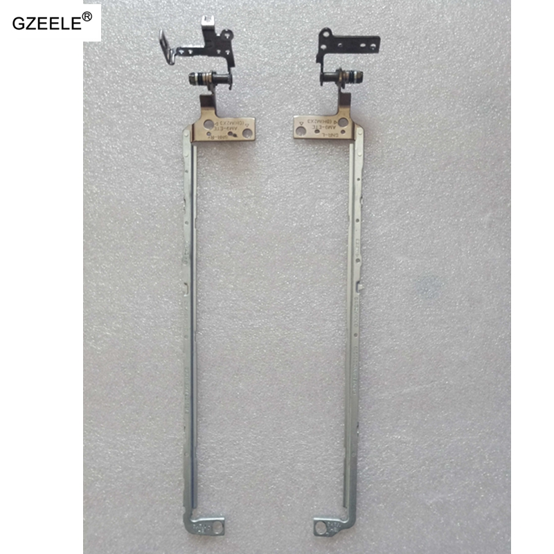 YALUZU 1 pair LCD Hinge For <font><b>DELL</b></font> <font><b>Inspiron</b></font> <font><b>15</b></font> <font><b>7000</b></font> 7557 7559 L+R LCD Hinges With Touch FBAM9012010 FBAM9013010 laptop accessories image