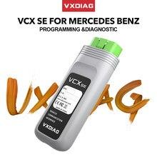 VXDIAG VCX SE dla Benz skaner obd2 profesjonalne narzędzie mechaniczne samochodu Offline kodowania gwiazda diagnoza C6 dla Mercedes diagnostyczne auto