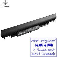 GZSM بطارية كمبيوتر محمول HS04 ل جناح HP 14 ac0XX 15 ac121dx 255 245 250 G4 240 HSTNN LB6U HSTNN PB6T/PB6S HSTNN LB6V البطارية