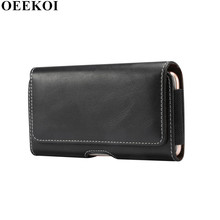 OEEKOI Artificial Sheepskin Pattern Belt Clip Pouch Case for Vivo X9s X9L V5S X9i V5 Lite V5 Plus Y66 X9 Xplay 6 V5 Y67 V3 Max(China)