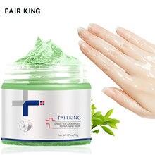 Grün Tee Lock Wasser Reparatur Hand Maske Nähren Feuchtigkeitsspendende Bleaching Peeling Schwielen Hand Film Anti-aging-Hand Creme 50G