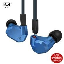 KZ ZS5 2DD+2BA Hybrid In Ear Earphones HIFI DJ Monitor Headset Running Sport Earphones Headset Earbud Two Colors for ZS3 ZSN