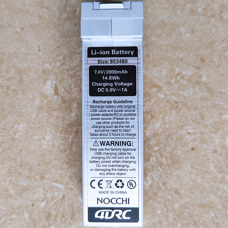 Оригинальный литий-полимерный аккумулятор 7,4 в 2000 мАч для 4дк F3 GPS 5G WIFI FPV 4K профессиональная камера Дистанционное управление Радиоуправляем...