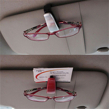 ABS Car Vehicle Sun Visor Sunglasses Eyeglasses Glasses Ticket Holder Clip Auto Fastener Accessories