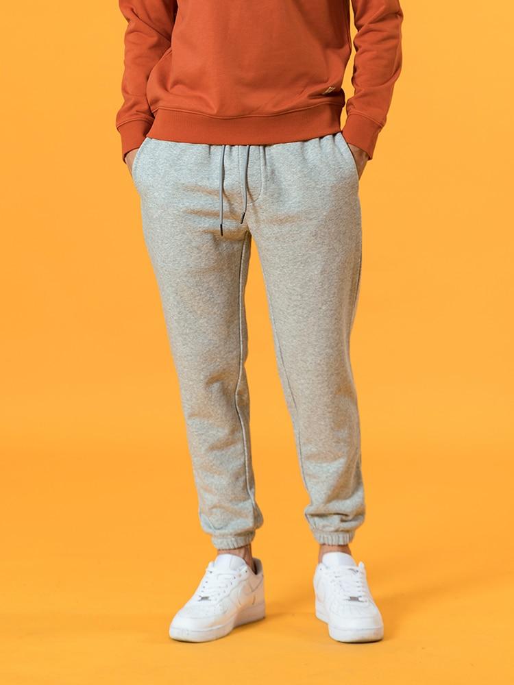 Pants Trousers Jogger Back-Pockets Comfortable Plus-Size SIMWOOD New Autumn Causal SJ131038