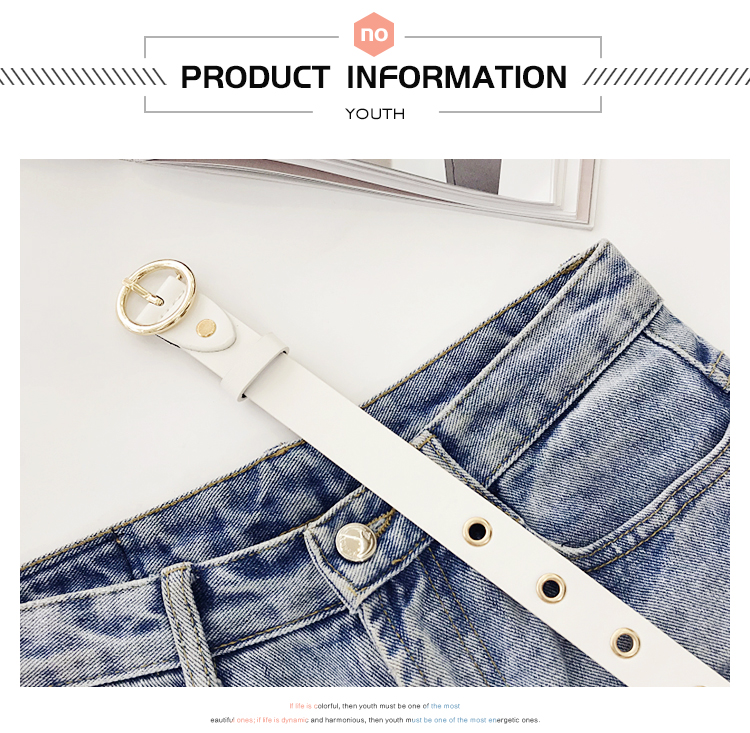 Ha61b717f6f064acf8263895d2541f18dN - NO.ONEPAUL Genuine leather women belt high quality fashion casual alloy round buckle with ladies trend jeans the women for belt