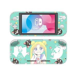 Image 4 - Adesivo de pele para nintendo switch, capa decalque de anime sailor moon nintendo switch lite