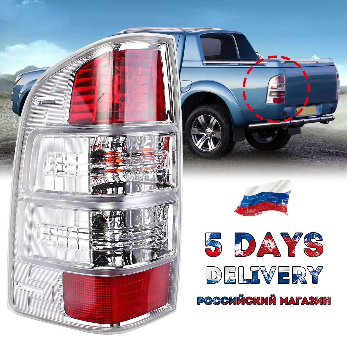 Feu arrière LED feu arrière gauche/droit lampe de tête de style de voiture lampe arrière avec faisceau d'ampoule pour Ford Ranger pick-up Ute 2008-11