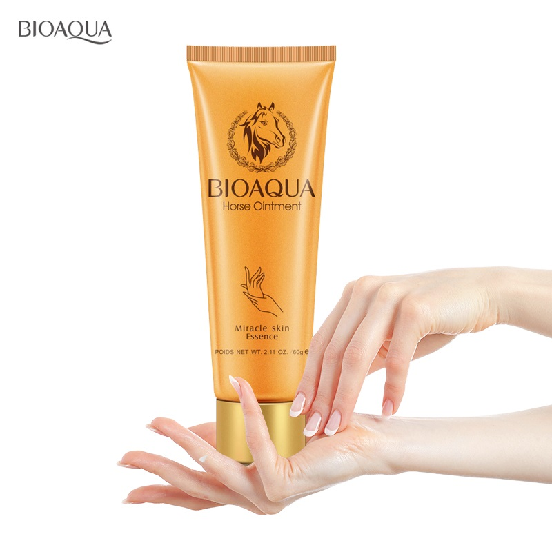 BIOAQUA Horse Ointment Miracle Moisturizing Hand Cream Brands Anti Aging Whitening Hand Lotion Creams For Hands Mango Skin Care