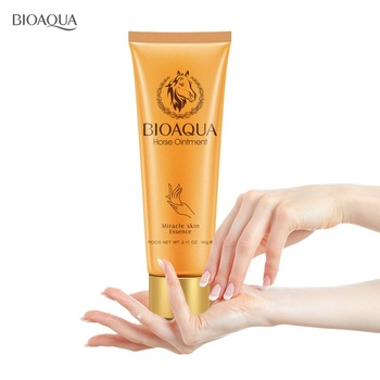 BIOAQUA horse ointment miracle moisturizing hand cream brands anti aging whitening hand lotion creams for hands mango skin care недорого