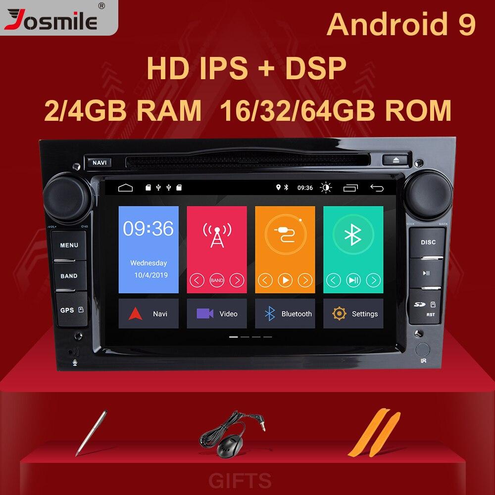 4GB 64G 2 Din Android 9,0 автомобильный Радио DVD для Opel Vectra C Zafira B Corsa D C Astra H G J Meriva Vivaro Мультимедиа gps навигация
