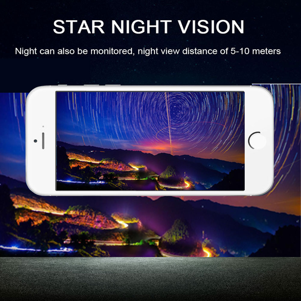 lowest price WIFI Reversing Camera Dash Cam Star Night Vision Car Rear View Camera Mini Body Water-proof Tachograph for iPhone and Android