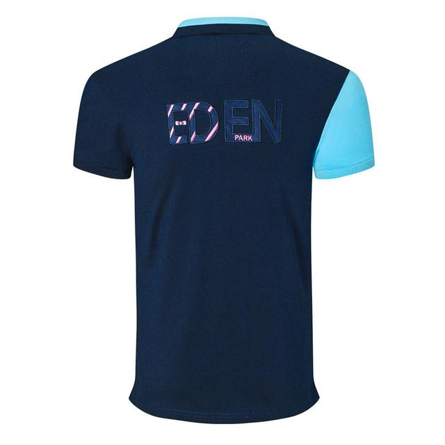 New arrival men's patchwork polo shirts park brand design stright tops business eden casual homme embroidery tops 3