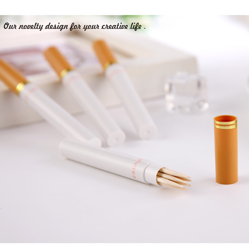 Portable Pocket Toothpick Holder Toothpick Bucket Mini Box Storage Box Seal Bottle Travel Toothpick Dispenser in Toothpick Holders from Home Garden