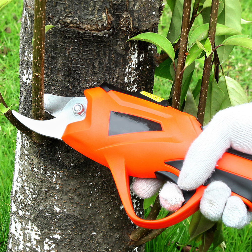 3.6V Cordless Rechargeable Secateur Branch Cutter Electric Fruit Pruning Tool Garden Pruning Shear Pruning Scissors