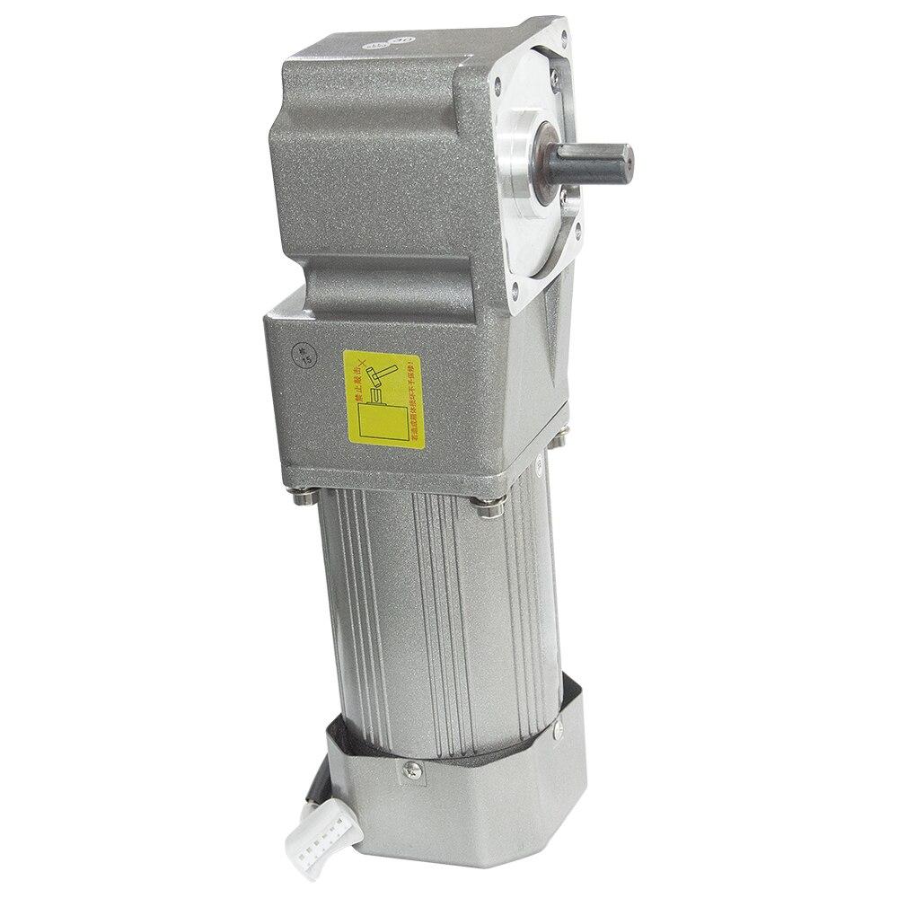 AC120-5GURA motor da engrenagem 110 v/220 v 120 w 7.5/15/23/34/54/75/108/150/180/270/450 rpm motor alto da c.a. do torque com 5 gura caixa de velocidades