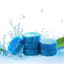 Limpiador de inodoro de burbuja azul de 5 piezas, limpiador de inodoro, limpiador de inodoro, desodorante para Baño