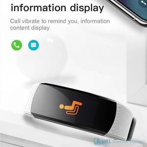 Image 5 - Moda spor akıllı saat kadın erkek Smartwatch spor izci bayanlar için Android IOS akıllı saat nabız monitörü akıllı izle