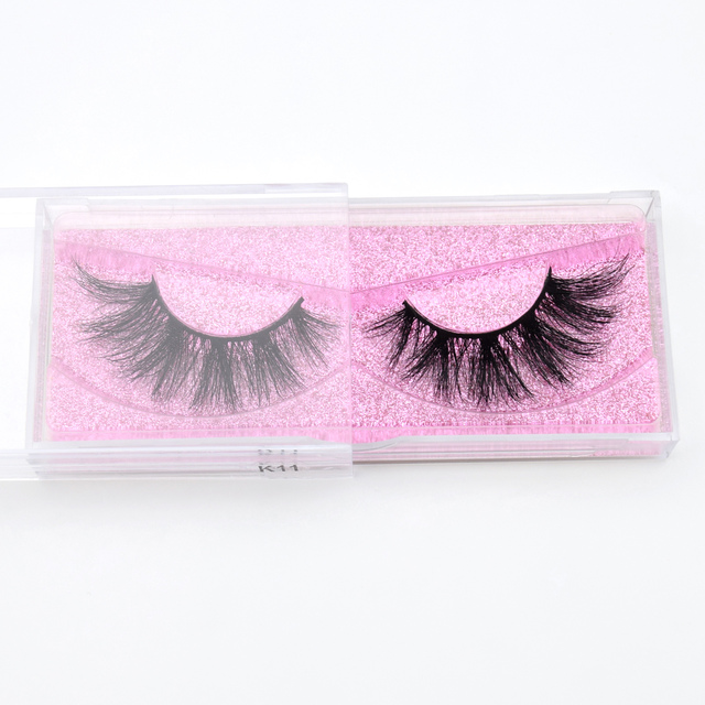 Visofree Mink Eyelashes 3D Mink Hair False Eyelashes Natural Thick Long Eye Lashes Fluffy Makeup Beauty Extension Tools K11 3