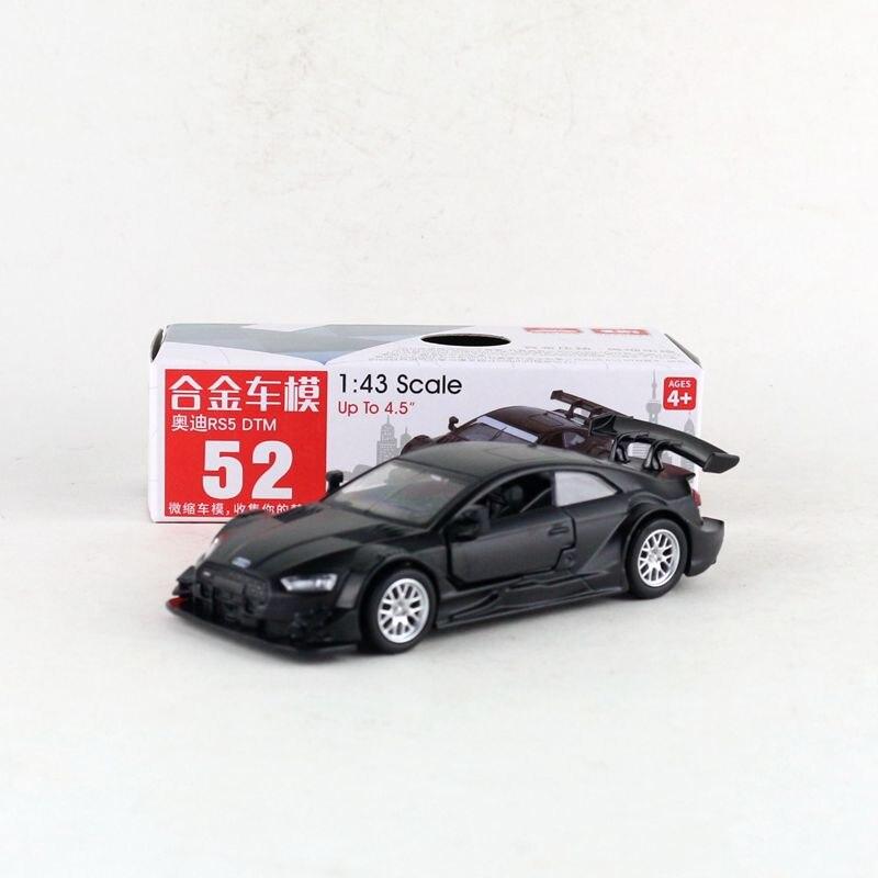 Escala 1:43/modelo de juguete de Metal fundido/Audi RS5 DTM/coche de carreras súper deportivo/Colección educativa/retroceso/regalo para niños Oferta 1:32 cargador de coche Diecast Metal modelo coche sonido y luz Pull-back Vehículo de juguete para niños y niños regalo 4 colores
