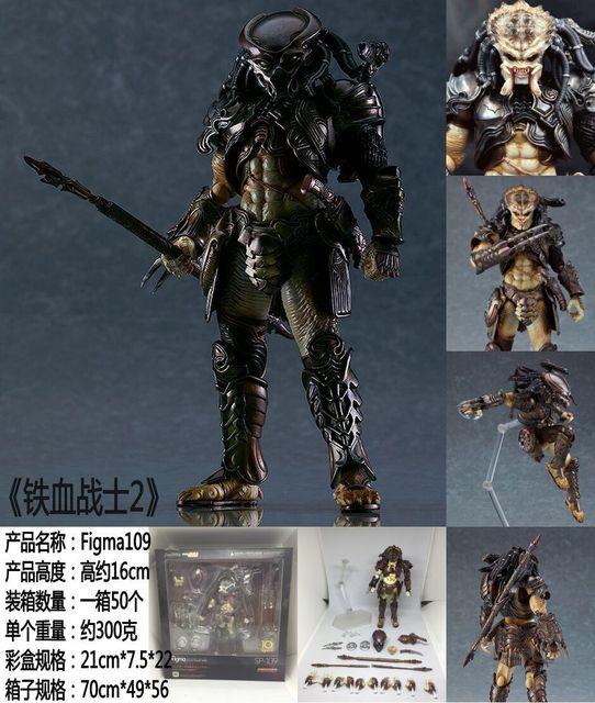 Figma SP-109 Predator 2 Takayuki Takeya Ver. PVC Action Figure Collectible Model Toy 1