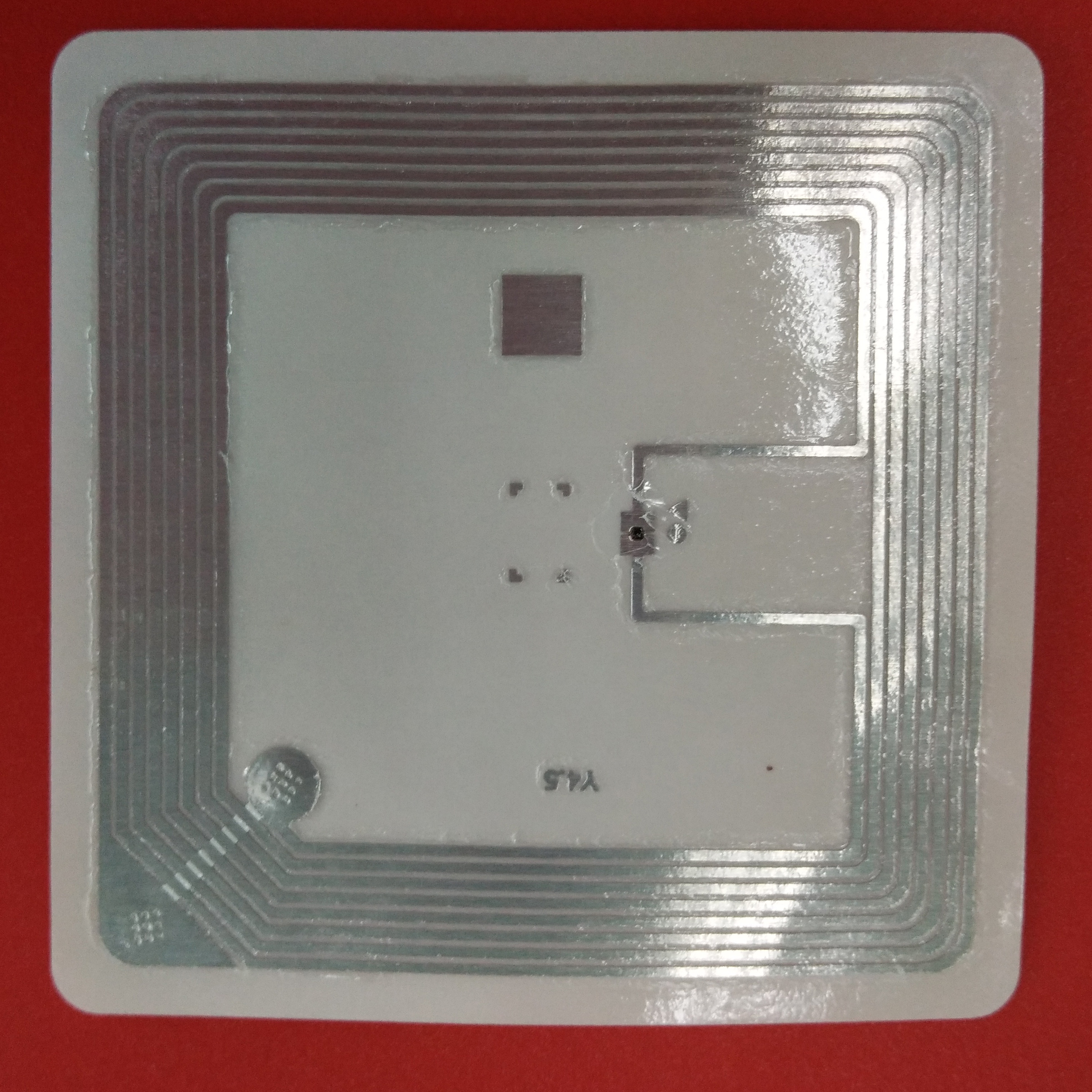 RFID HFD 50*50mm Electronic Label NXP I CODE SLI-X
