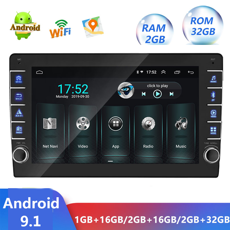 1 Din <font><b>Android</b></font> 9.1 Car Mp5 Video Player 9 inch <font><b>1Din</b></font> <font><b>Autoradio</b></font> Multimedia Audio Car Stereo GPS Navigation USB WIFI TF FM No <font><b>dvd</b></font> image