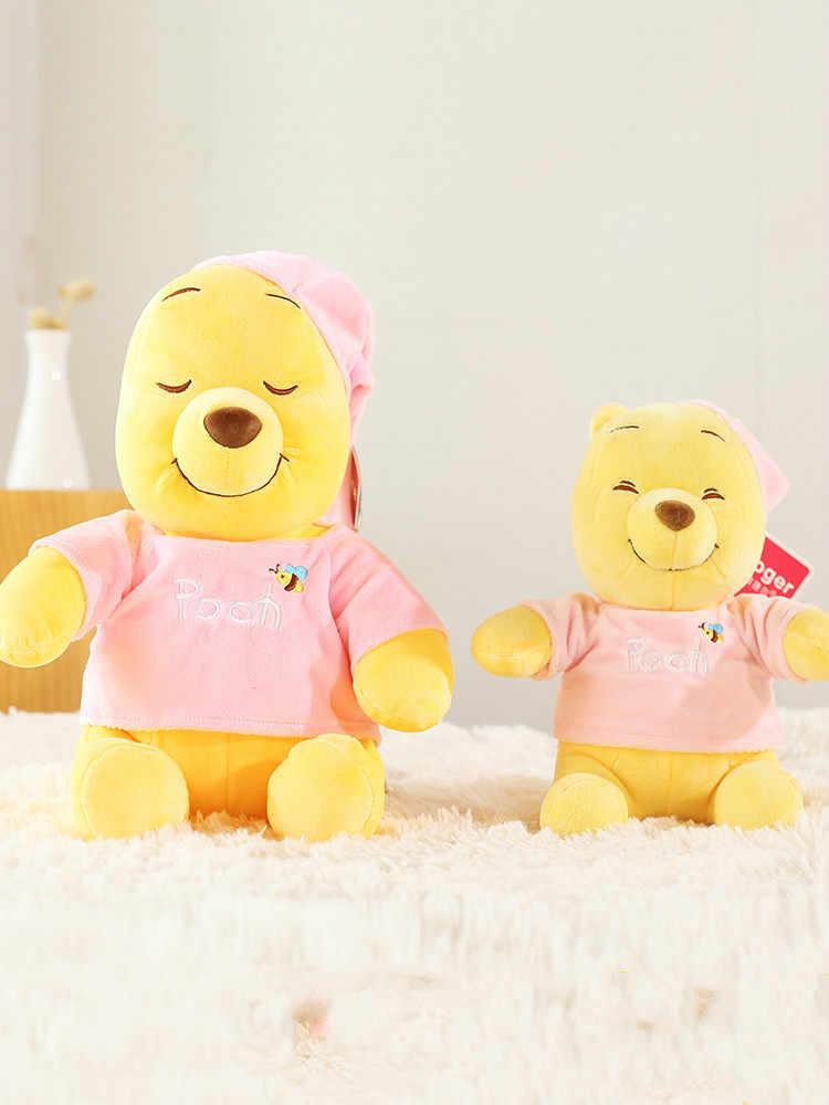 Oryginalny Disney piżama puchatek lalki zabawki kubuś puchatek pluszowe zabawki dla dzieci prezenty na urodziny, boże narodzenie chłopiec lub dziewczyna zabawki Freeship