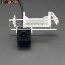 BigBigRoad Vehicle Wireless Car Rear View Backup Parking Camera HD Color Image For Mercedes Benz C Class W202 4D Sedan Facelift