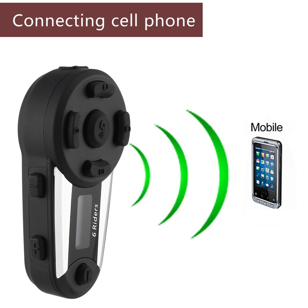 New T20s With Screen Fm Motorcycle Helmet Bluetooth Intercom Headset 1200 Meters Full Duplex Real-time Pair