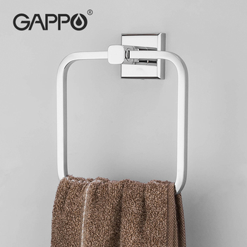 GAPPO ręcznik łazienkowy wieszak na ręczniki wieszak na ręczniki kuchenne wieszak na ręczniki sus 304 wieszak naścienny na ręczniki ze stali nierdzewnej tanie i dobre opinie STAINLESS STEEL Fasion Pojedyncze 50 cm G3804