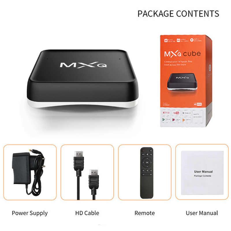 Falante TV Box MXQ S10W Android 7.1 ATV 2GB S905W 16GB 2.4G Wifi Amlogic Quad Core BT4.2 4K Google Netflix Youtube Media Player