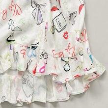 Mini robe à volants pour femmes, tenue courte, col en v, manches courtes, imprimé floral, printemps été 2021
