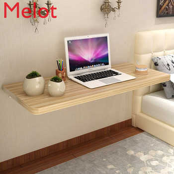 Household Folding Table Simple Modern Dining Table Wall Table Hanging Computer Table Wall Study Table Simple Laptop Stand - SALE ITEM All Category