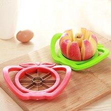 Кухонная овощерезка для яблока, резак для груши, фруктов, разделитель, удобная ручка для кухни, Овощечистка для яблок, быстрая#25