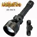 UniqueFire UF-1406 XML T6 светодиодный фонарик 50 мм 1200LM фонарь для 2x18650 батареи (не входят в комплект) фонарь из полиэтилена с креплением