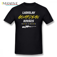 Natus Vincere T Shirt Guardian CSGO T-Shirt Man Short Sleeve Tee Shirt Printed Awesome Casual Plus size  Tshirt цена и фото