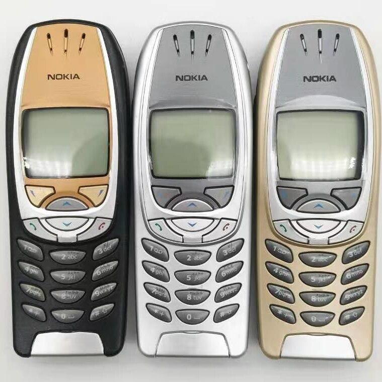 6310i Original Unlocked Nokia 6310i 2G GSM Tri-band Bluetooth Classical Cellphone refurbished