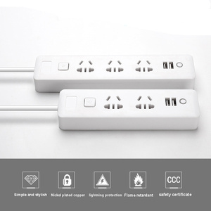Image 4 - Multiple Power Strip 2/3 way Socket with USB AU Plug Outlets Electrical 2m Extension Cord Charger Travel Adapter for Home Office