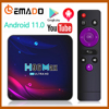 H96 Smart TV Box Android 11 4K Hd Youtube Google Play 5G Wifi Bluetooth Receiver Media Player HDR USB 3.0 4G 32Gb 64Gb Tv Box 1