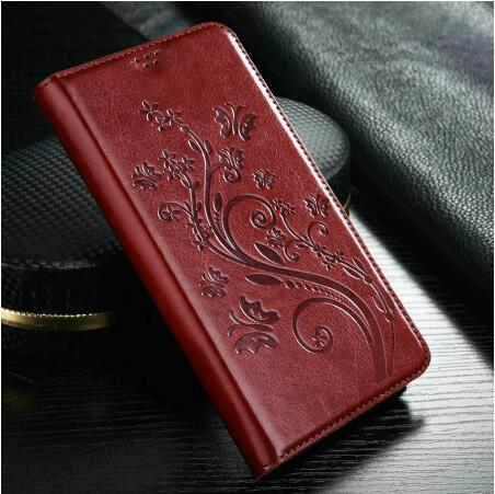 For <font><b>Sony</b></font> <font><b>Xperia</b></font> <font><b>E3</b></font> <font><b>D2203</b></font> D2206 D2243 Flip Case PU Leather Card Holder Stand Cover For <font><b>Sony</b></font> <font><b>Xperia</b></font> <font><b>E3</b></font> Case Protector Wallet Bag image
