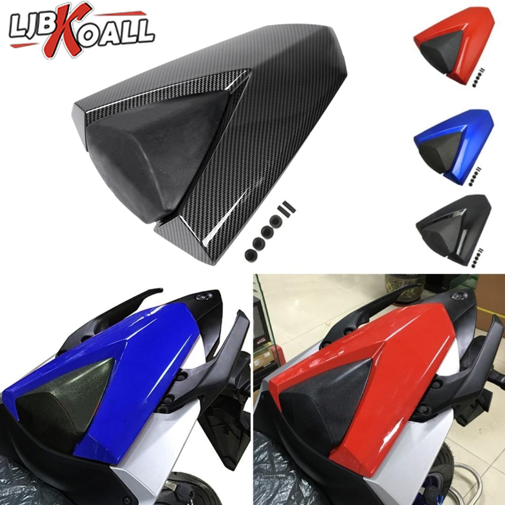 Rear Passenger Seat Cover Cowl For Yamaha MT03 YZF R3 R25 <font><b>MT</b></font> <font><b>03</b></font> MT25 <font><b>MT</b></font>-<font><b>03</b></font> <font><b>MT</b></font>-25 YZF-R25 2013 2014 2015 2016 2017 <font><b>2018</b></font> 2019 ABS image