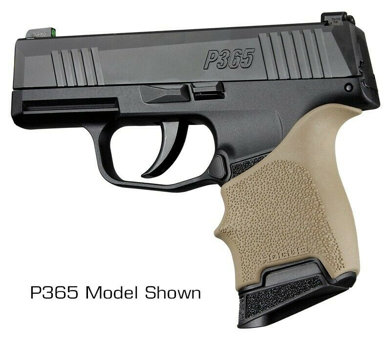Hogue резиновая ручка Beavertail Grip Sleeve SigSauer P365 для Glock для настоящего оружия