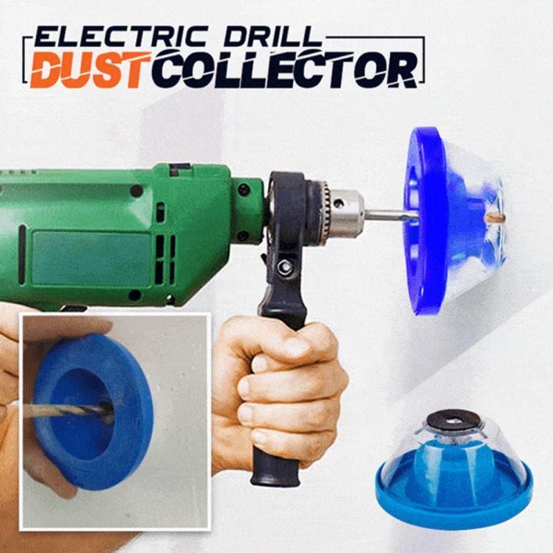 Accesorio para taladro eléctrico evita el polvo herramienta para el hogar